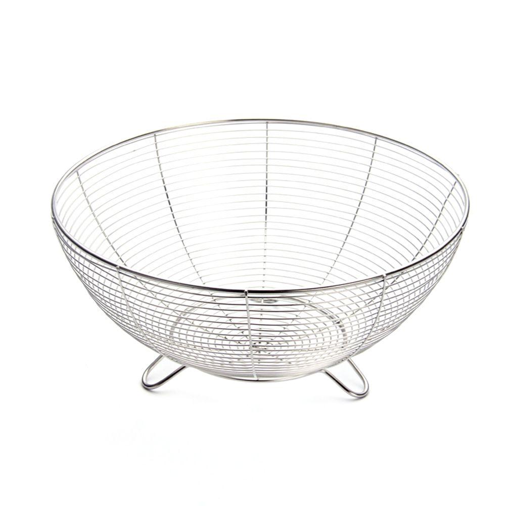 Área de trabalho oca Ferro Metal Titular Fruit Basket Detalhes Kitchen Nordic Estilo