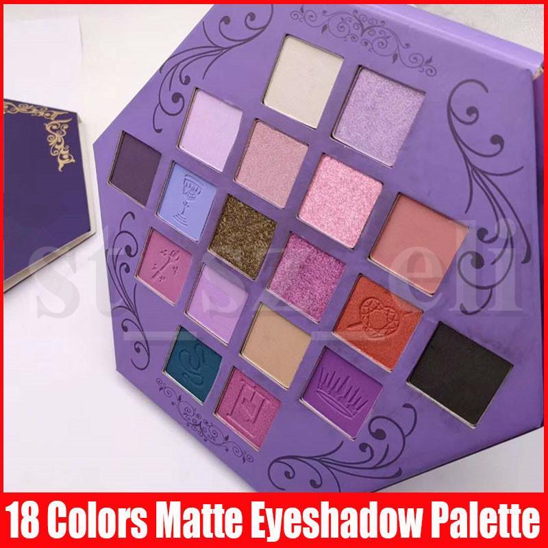 Star Eye Makeup eyeshadow Palette Blood Lust Eye shadow 18 colors Purple Artistry eye shadows Palette