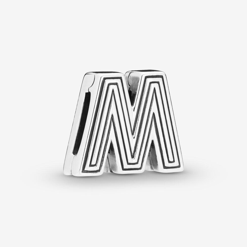 Nuovo arrivo 925 argento lettera M di clip di fascino misura Reflexions del braccialetto della maglia di moda gioielli e accessori