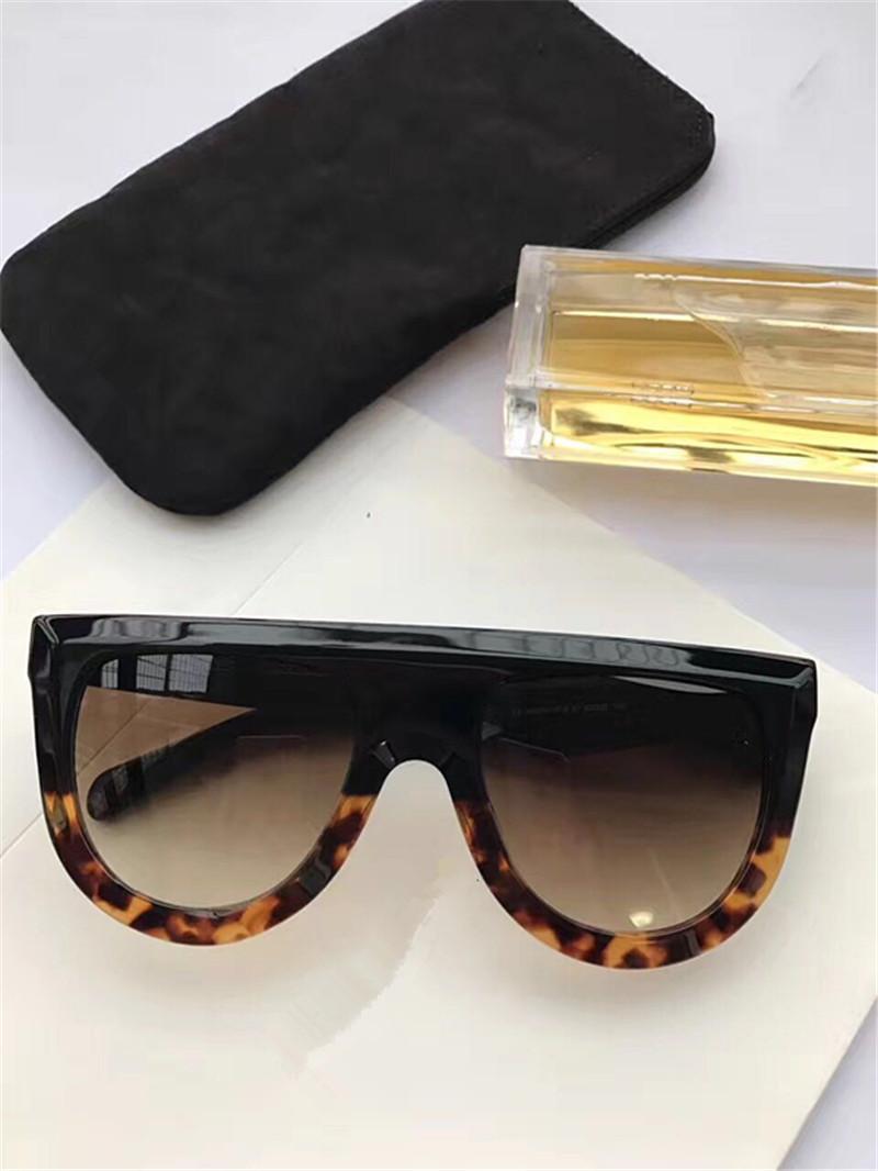 41398 женщин Мужчина популярного солнцезащитных очки Audrey очки дизайны обертывания унисекс модель большой кадр леопард двойной цвета рамка высокое качество приходят с коробкой