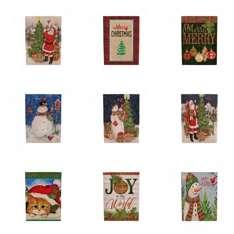 Рождество письмо Баннер украшения Нетканые ткани Главная Магазин Xmas Подвеска партии День рождения Прицепные Флаг Рождественские украшения # 831