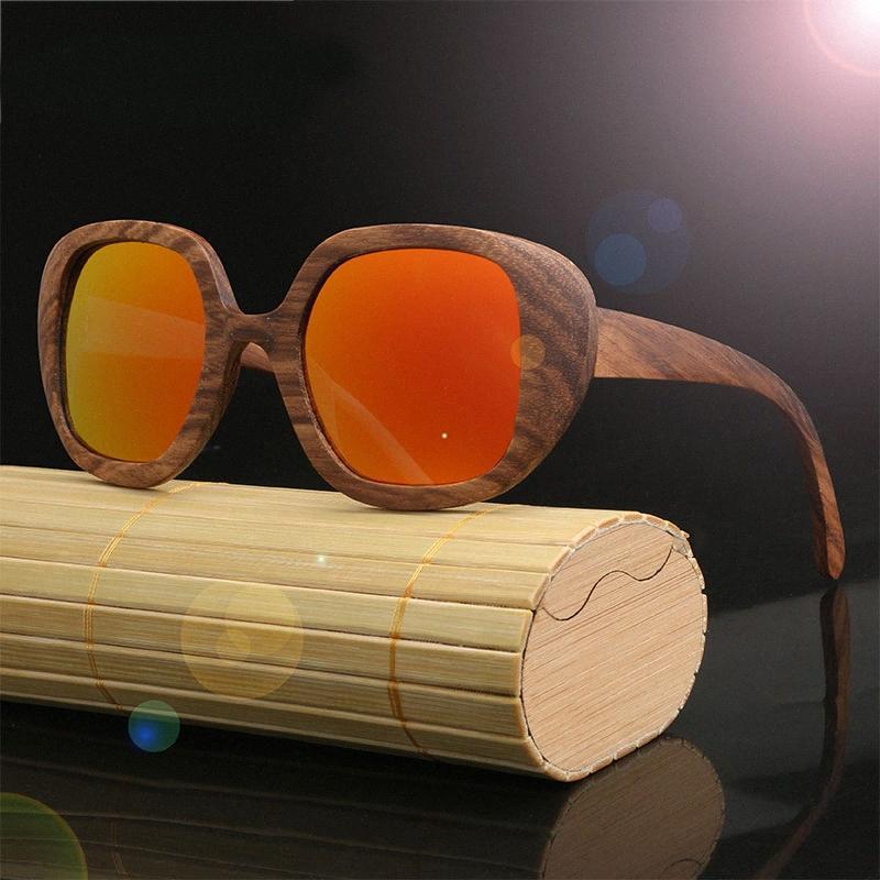 2020 مصمم العلامة التجارية زيبرا نظارات الخشب للرجال والنساء كبير جدا المستقطبة نظارات شمسية كهربائية نظارات شمسية فاست تراك YoBl #