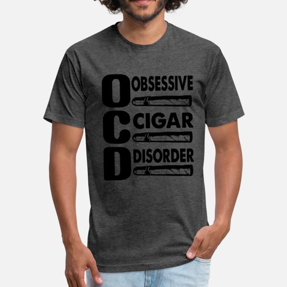 TOC TOC Obsessivo Cigar Disorer T Shirt Printed Homens Camiseta Euro Tamanho S-3xl Único shirt bonito respirável Verão Padrão