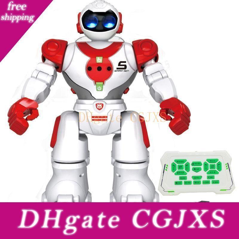 Uzaktan Kumanda Robot Oyuncak Akıllı Çocuk İndüksiyon Rc Robot ile Sing Dans Eylem Şekil Oyuncak İçin Çocuk Doğum Hediye