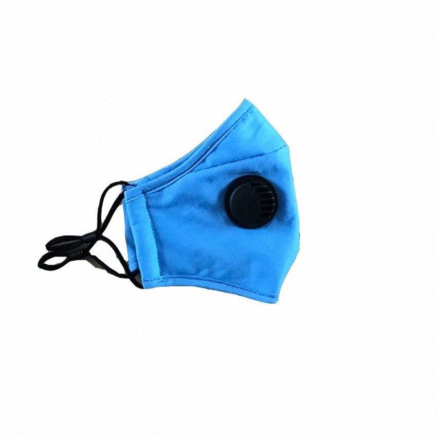 Kind Mund Maske PM2.5 Mundschutz Schutz Baumwolle Masken mit Entlüfterventil Kinder Gesichtsmaske Waschbar Can USE Filter LJJK2344 uRLR #