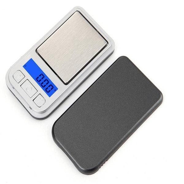 200g / 0.01g Mini précision numérique Balance électronique Balance de pesée 0.01 Gram Portable Balance de cuisine pour les bijoux en or Herb diamant