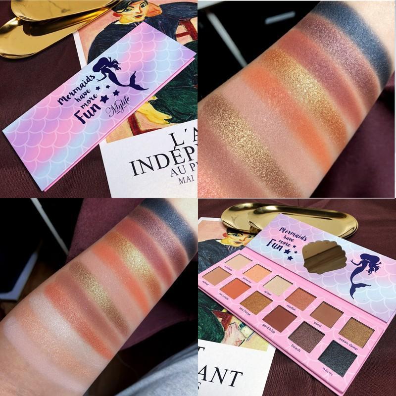 Kosmetische 12 Farbe Schönheit Lidschatten Pallete Verfassungs-Paletten-Schimmer-Matt Glitter Lidschatten-Palette pigmentierte Nude Smoky Cosmetic
