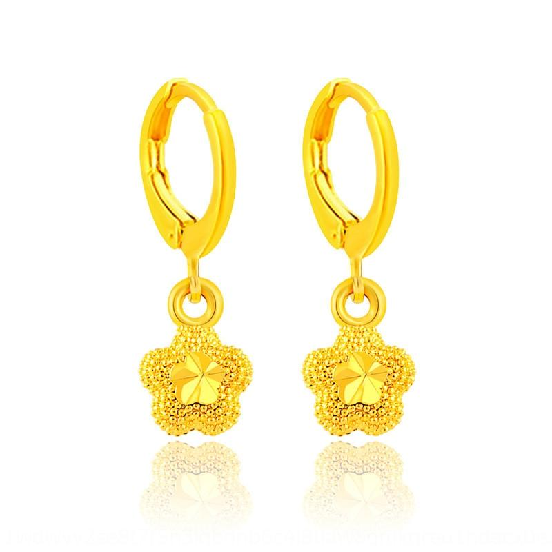 9oGm5 New exquisite flower exquisite flower hot sale bridal jewelry earrings and earrings for girlfriend JE026