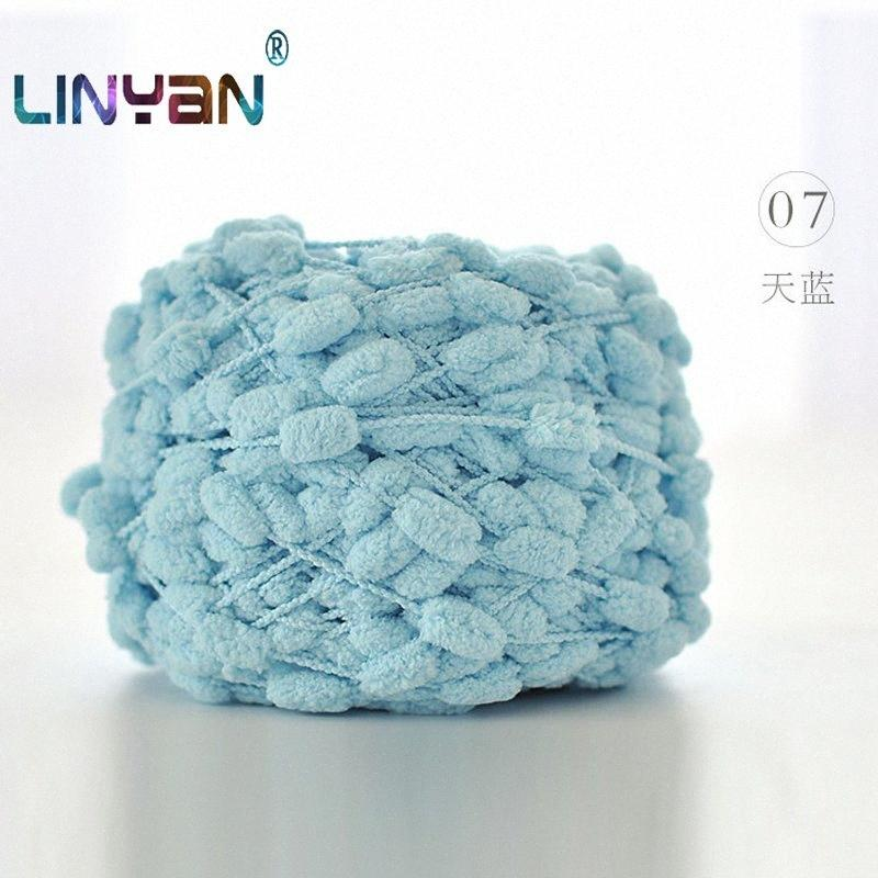 2 bolas * 190g cobertor grosso linha de crochê DIY Flourish lenço fio fios de lã pequeno para fios de tricô de algodão para crochê ZL3 SbKZ #