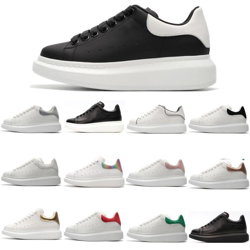 2019 Moda Lüks Erkekler Kadınlar Tasarımcı Ayakkabı süet beyaz Balck Casual Falt Ayakkabı Lace Up Yürüyüş Açık Runner Sneakers kırmızı