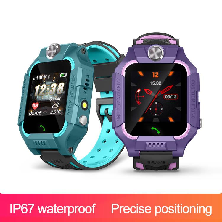 X7 Fashionable dynamic 2G Network LBS GPRS SOS Smart Watch X7W temperature Kids Video call IP67 waterproof Alarm Clock Camera Baby Watch