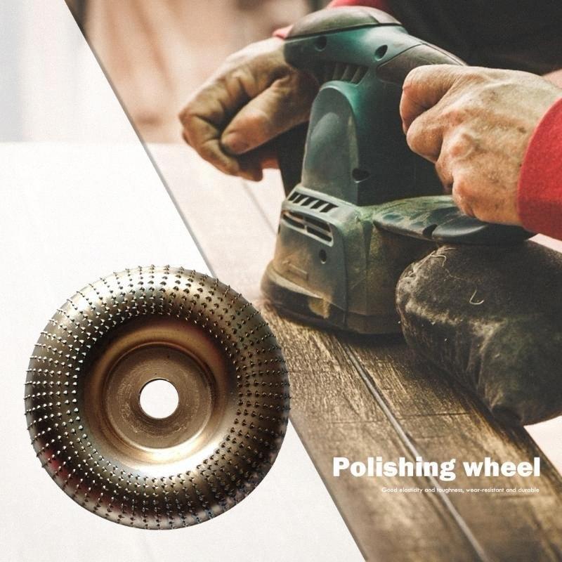 Corte Carpintaria rebolo abrasivo Círculo Disco Sharpener Rotary Roda Rotary ferramenta de escultura em madeira ferramenta de polimento glZw #