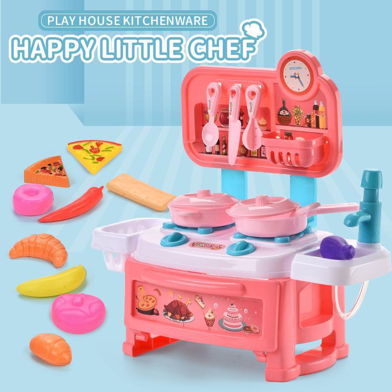 çocuk oyuncakları ev oyuncakları Mutfak gereçleri serisi gurme mutfak çocuğun 2020 sıcak satış Eğitici oyuncaklar hediye pişirme oynamak