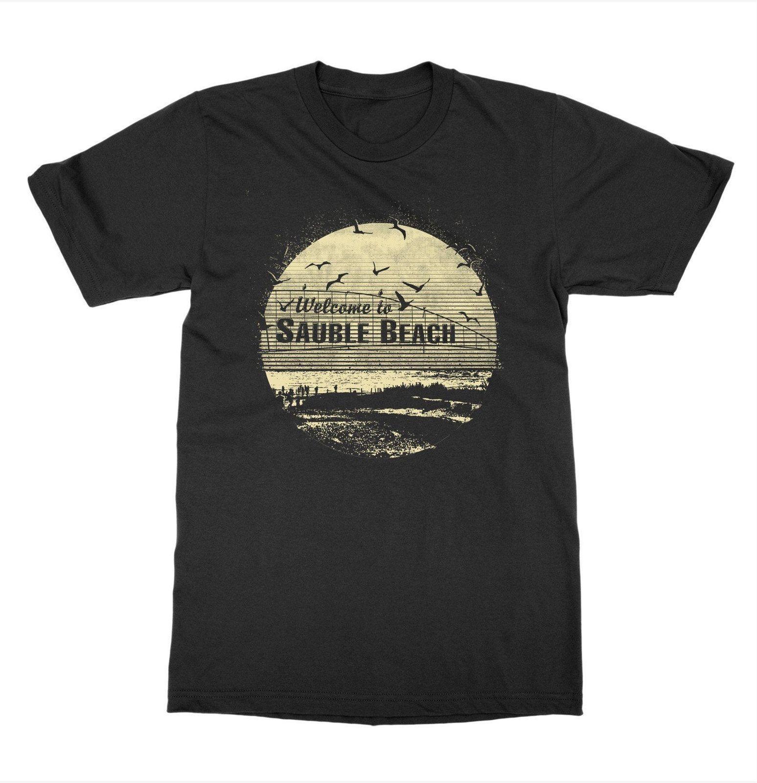 2019 nuevos hombres de Sauble Beach Ontario camiseta Cottage Cabañas Canadá Alquiler Campo Outdoorer Logia Camiseta