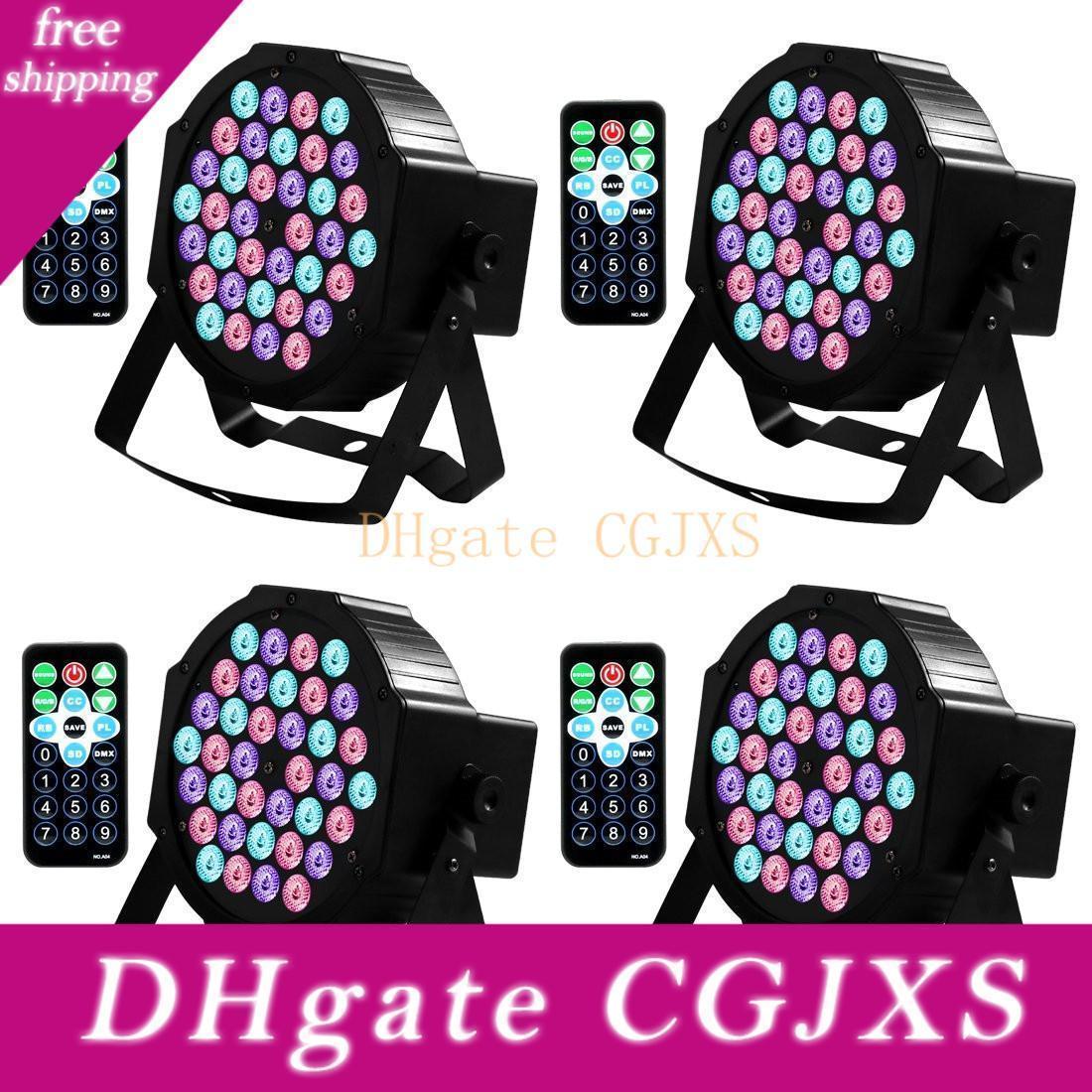 Dj luzes 36LED Par luzes LEDs RGB ativado por som Luzes palco com controle remoto compatível com DMX Controlador Para Wedding Party Club