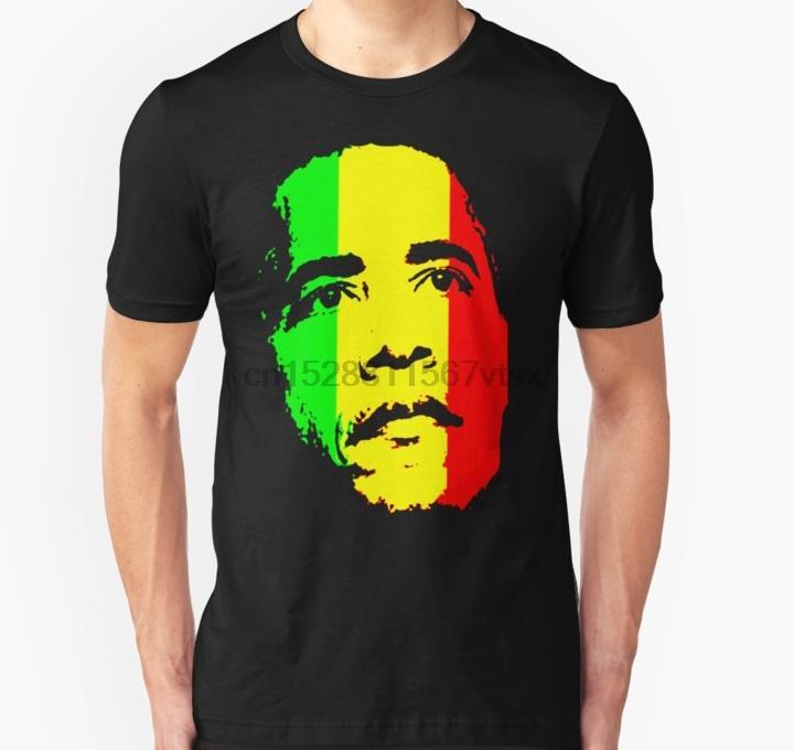 Les hommes tshirt vert Barack Obama or et rouge t-shirt Slim Fit T-shirt imprimé tees T-shirt haut