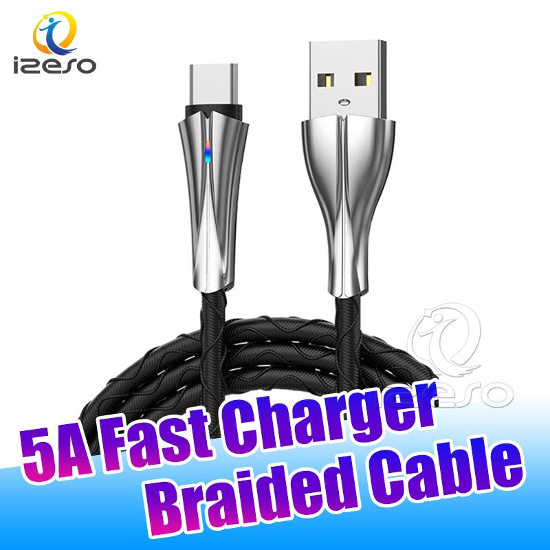 Sync Data C Cable High Speed Charging Line Micro V8 3ft Fast Charger Cord for Samsung Note 20 Ultra with Retail Package izeso