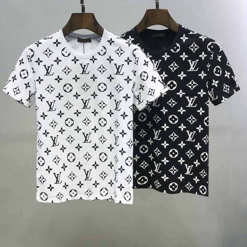 2020 hommes de la marque italienne style populaire t-shirts Designer hip-hop vêtements pour hommes t-shirt mode casual t-shirts pour les hommes lettre T-shirts