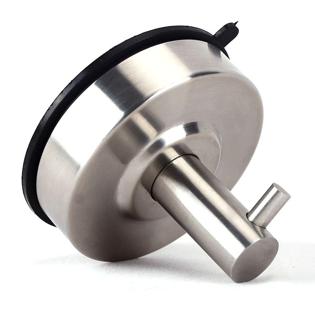 Wasserdicht starkes Vakuum Saugnapf Aufhänger Edelstahl Wandhaken Badezimmer