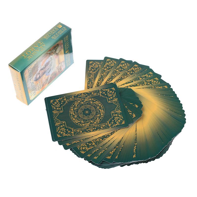 62 Pz Oracle Tarocchi akashica Tarocchi Listello Giochi Carte da Gioco per Game Party