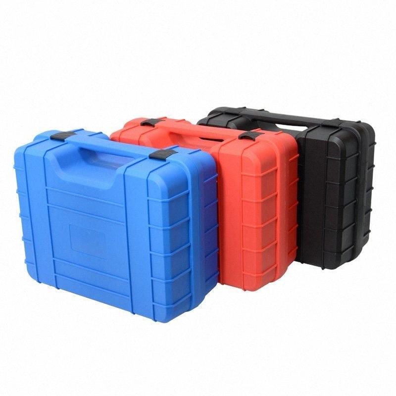 caja de seguridad de protección de viaje herramienta al aire equipo de protección caja del instrumento de plástico con una esponja 385x310x171mm lxBg #