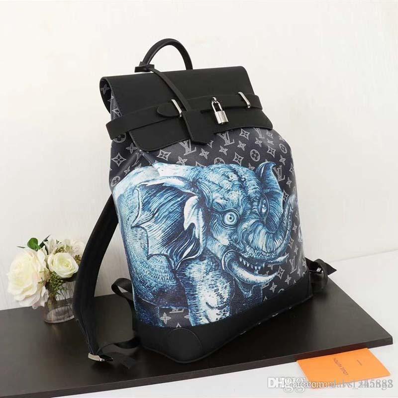 Luxus-Handtaschen Rucksäcke Handtaschen arbeiten Handtaschen aus Leder Männer und Frauen Neueste beliebte Umhängetasche 43296-33 l1
