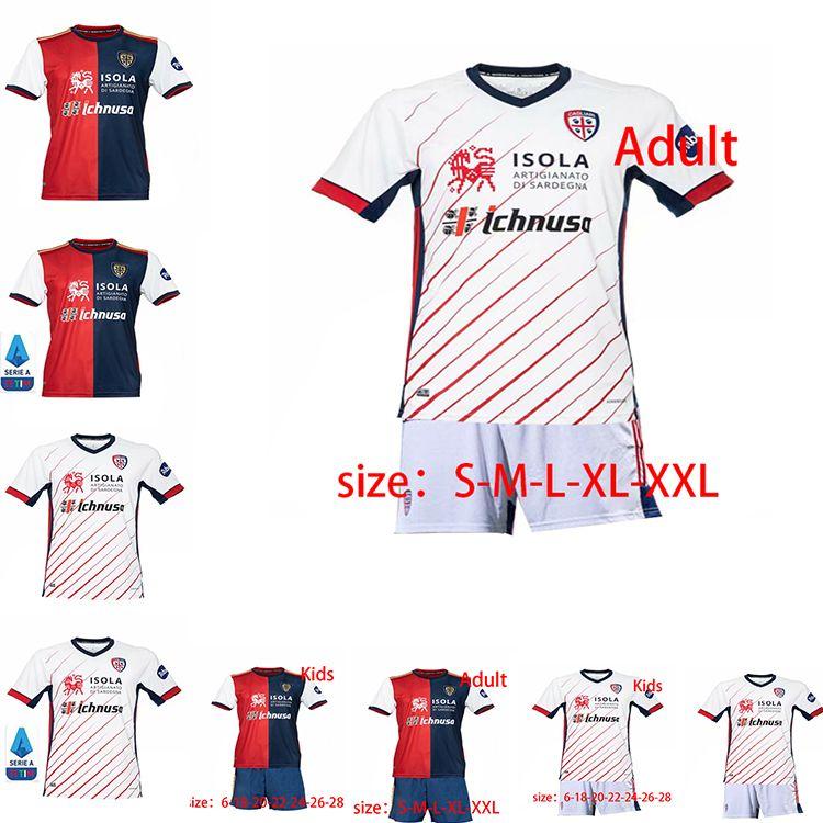 2020 2021 Soccer Jersey NAINGGOLAN Cagliari Calcio JOAO PEDRO SIMEONE NAINGGOLAN Andez 20 21 Maglie da Calcio Football Shirt maison loin