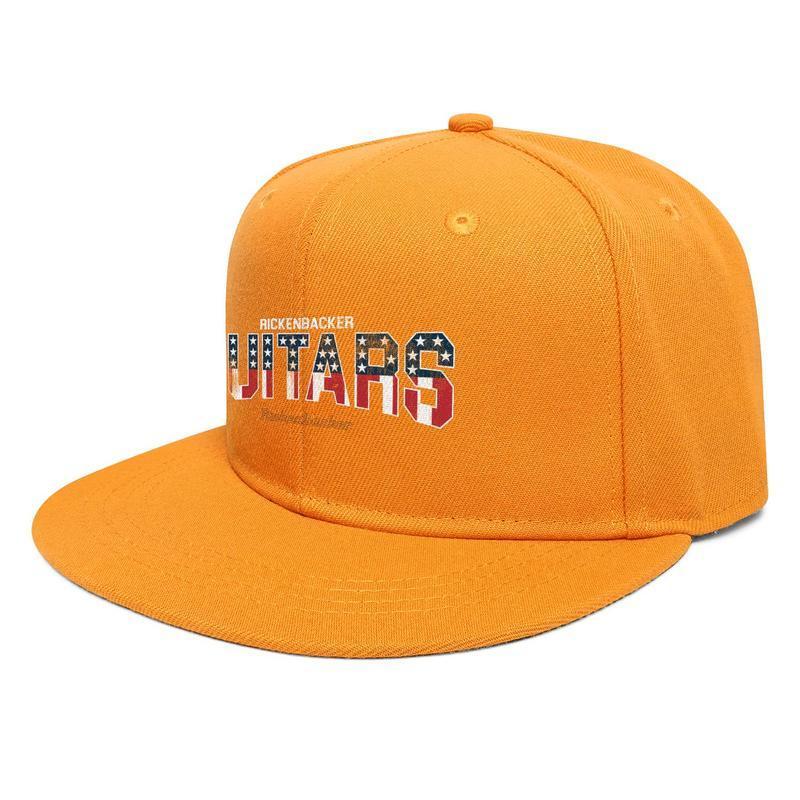 Rickenbacker Gitarlar ABD Bayrağı Unisex Düz Brim Beyzbol Şapkası Tasarımcı Takım Trucker Şapka Yeşil Kamuflaj Altın