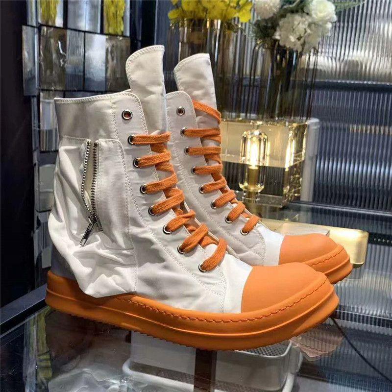 Hombres tobillo botas transpirable zapatos de lona hombres de moda las zapatillas de deporte de los hombres zapatos de tamaño grande de 11 # 22 / 20d50