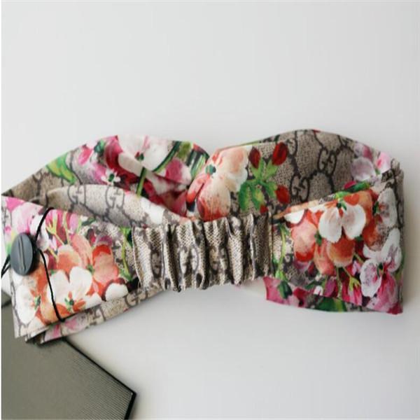 New 100% Silk very soft Headbands ladies women Fashion Bloom Flower Bird Elastic Hairband Girls Headwraps