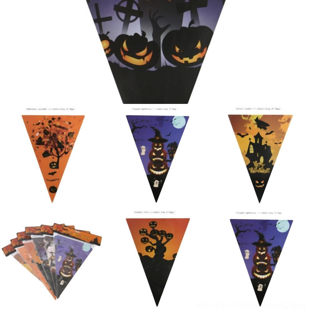 BcfTe Cadılar Kan Bırak pullflag kağıt Şekli kolye Retro asılı parti Kan Cam kolye Cadılar Bayramı İskelet Stil Kolye Bir Damla