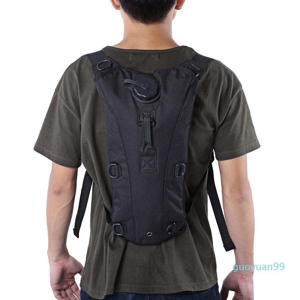 Nuevo- con bolsas 7 Bolsa de cantina 3L con mochila de agua Manguera de agua Color de agua Kopcl + B Bag Utility Bebida Mochila Lnigh