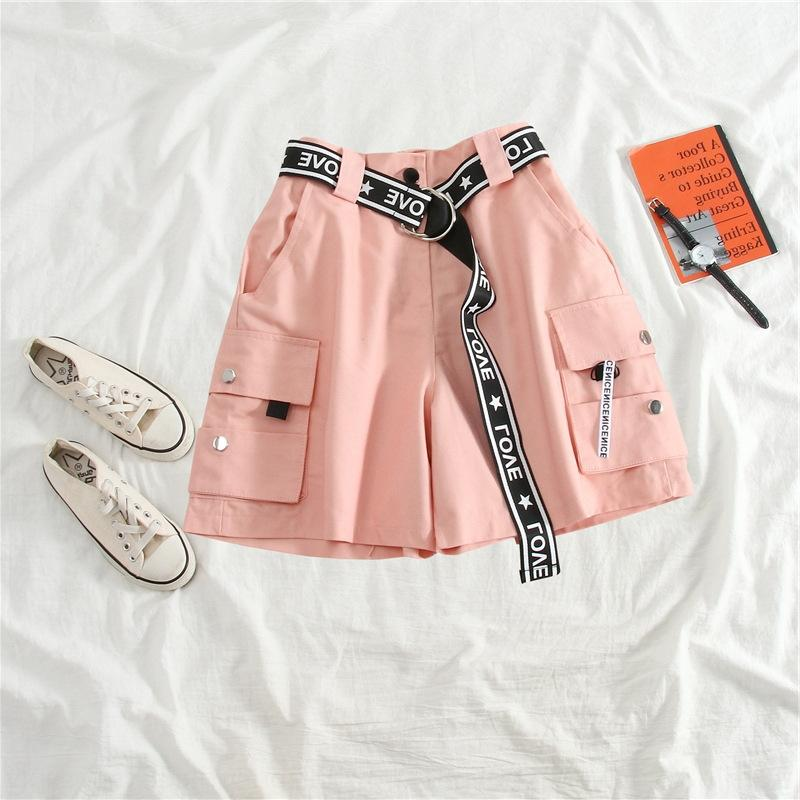mpgvc lA2wH Women's cotton-containing tooling suit jacket 2020 loose top fashionable fashionable age-reducing short jacket short summer leg w