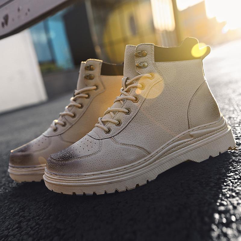 casuales скольжения обуви кроссовки sapatos причинная Zapatos Cuero горячие тапки мужские де ботинок моды мужчин сапоги пункт продажи Sapato весной на
