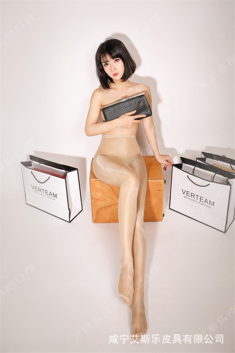 BX3G2 JBHfX cintura alta do petróleo brilhantes virilha brilhante amônia nua engrenagem aberta abertos mercerizado de flash sensuais meias-calça meias calça TEM
