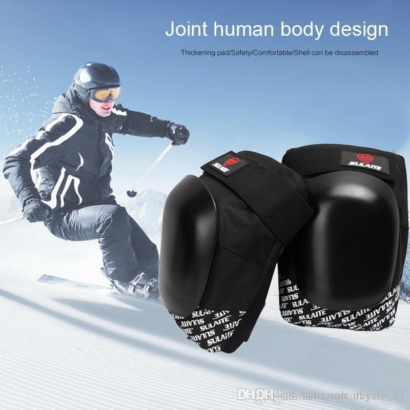 Rodilleras 2pcs motocicleta Ciclismo codo rodillera equipo de protección protegen motocrós Joelheira Protetora
