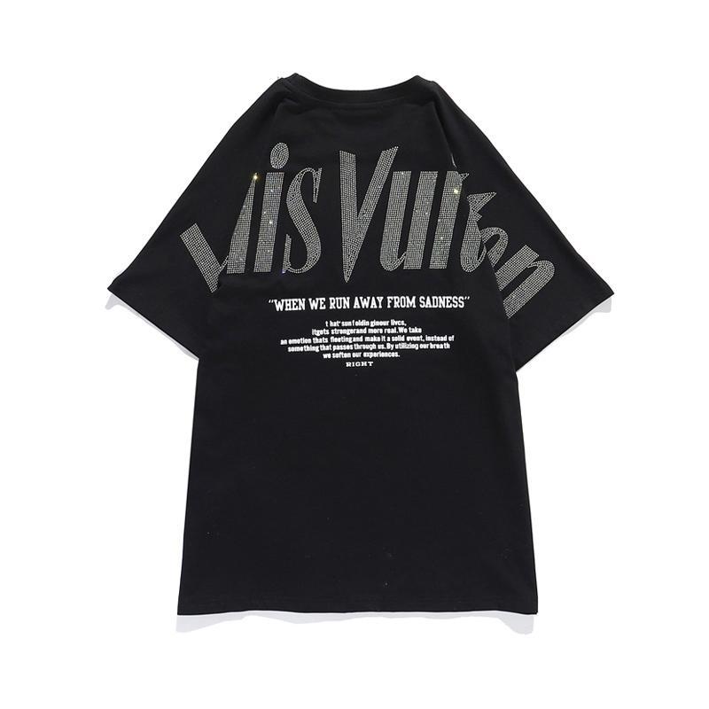 Factory Designer diretta T-shirt da uomo estate hip-hop di polo di modo camicia di cotone medusa t-shirt da uomo