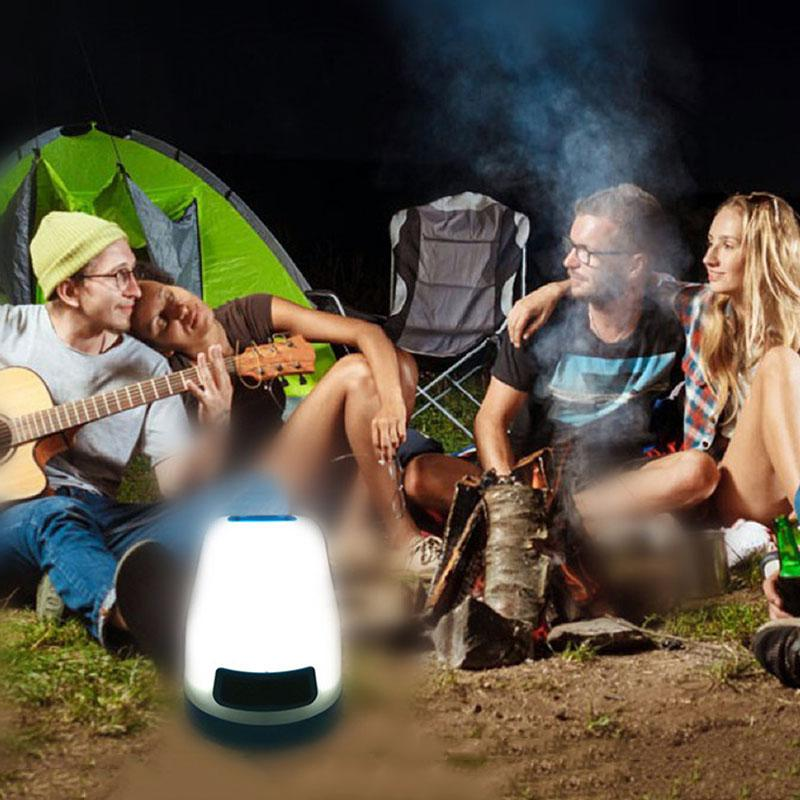 Outdoor Camping Light Lanterna 30 Led Work Light For Tent Camping Lamp Battery Powered Waterproof SOS Colorful Night Lights