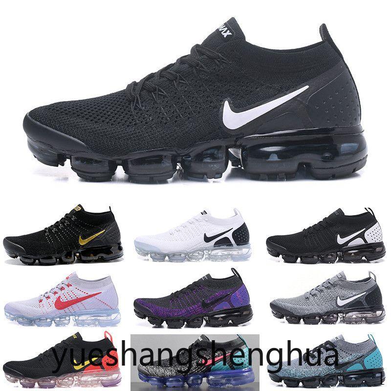 2019 Fly 2.0 Siyah Çok renkli koşu ayakkabıları erkek CNY Safari yarışçı mavi Tasarımcı spor ayakkabılar gece yarısı mor lacivert eğitici womens TUA2D