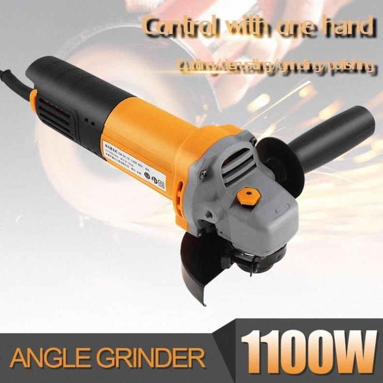 220V 1100W 11000rpm multifuncional compacto Angle Grinder Elétrica máquina de polir Ferramenta de corte para polimento e Rust Rd7n Remoção #