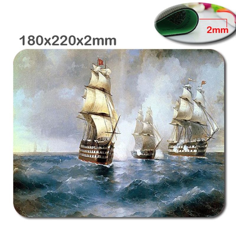 DIY 180x220x2mm HD 3D fast Print Non-slipworld of warship Choose custom gaming mouse The fashion design Mouse Pad Mousepad