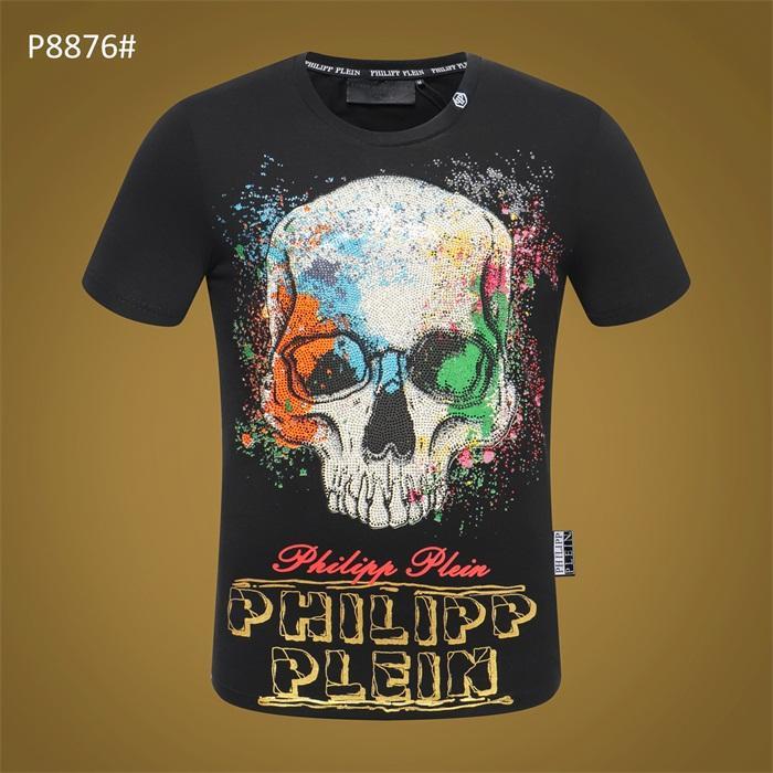 T-shirt dos homens marca interessante T-shirt Fashion Designer O crânio do pirata Personalidade de manga curta Crânio Moda Medusa algodão puro camiseta P28