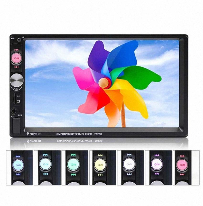 """Bluetooth dello schermo kit per auto MP5 Touch display digitale 2 din autoradio 7"""" USB HD Multimedia Player 2DIN Autoradio disponibili Indietro fSob #"""