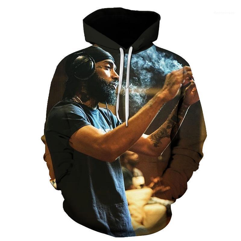 Nipsey Hussle Printed Hoodies Männer Frauen Teenager mit Kapuze langärmeligen Frühling Herbst Pullover 3D