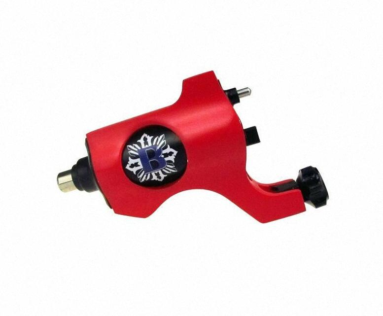 New rotary tattoo machine Bishop style 8 colors tattoo machine for ink cups tips kits BqkL#