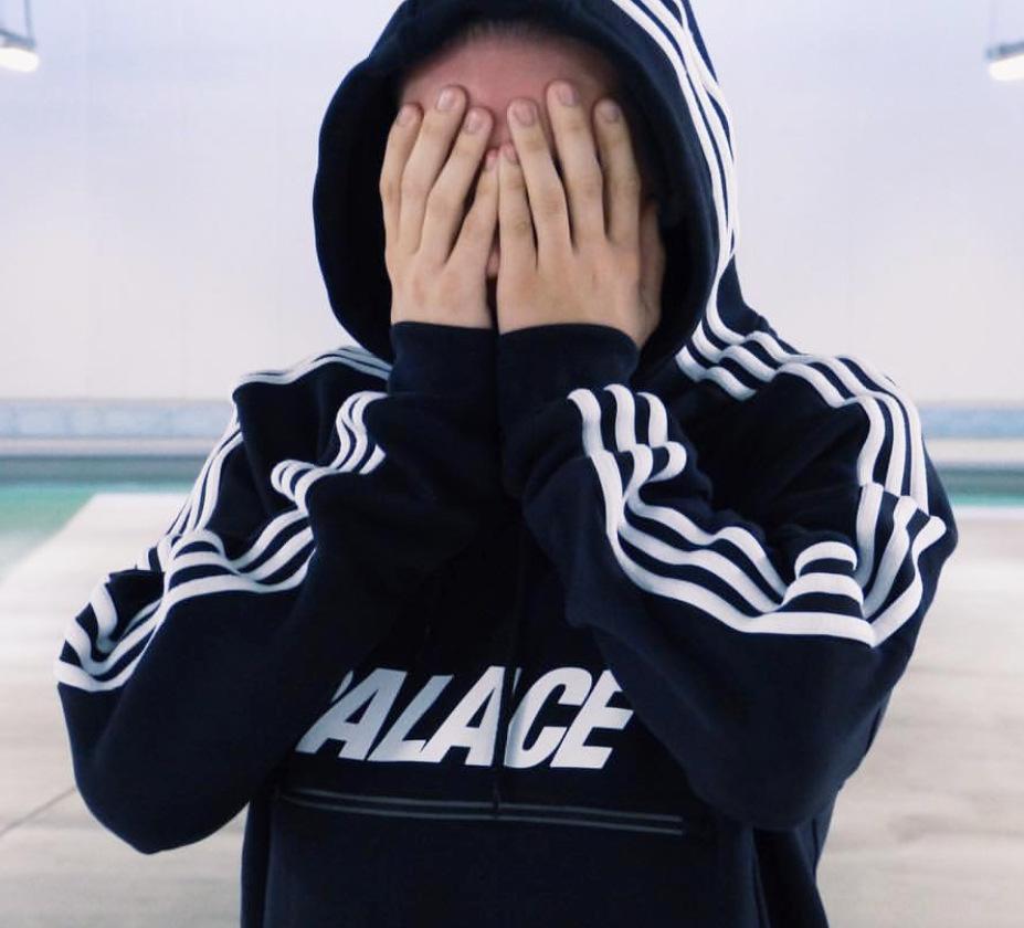 abrigo de la moda suéter con capucha de marca Wu Yifan capa triángulo ZOlxV de los hombres de la impresión de la cremallera reflectante de tres barras encapuchado misma