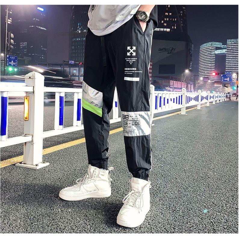 2020 NUEVO Mew Streetwear hombres 'S Multi bolsillos cargo del harem de los pantalones ocasionales de Hip Hop masculino de pista chándal pantalones de la manera de Harajuku Hombres Pantalones