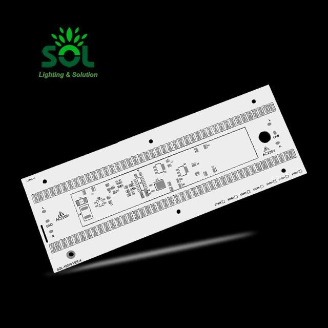 PCB / PCBA 디자인 매트릭스 알루미늄 PCB 회로 보드 어셈블리 10W 20W 30W 2700K에 6500K 주도
