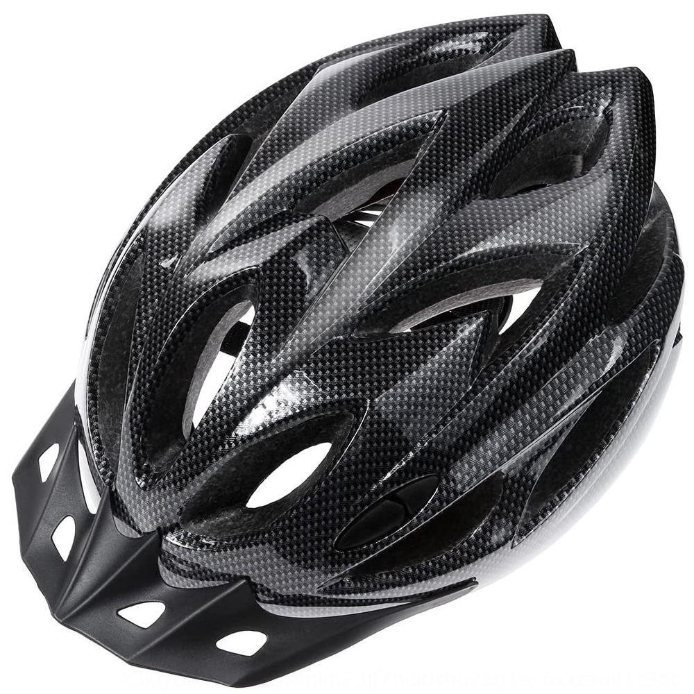 Integrado en bicicleta de la bicicleta del sombrero del casco de casco de bicicleta de montaña de las mujeres y los hombres en bicicleta