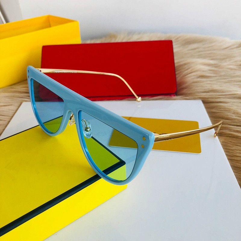 جديد 0372 النظارات الشمسية للنساء مصمم أزياء شعبية نظارات شمسية نظارات شمسية أعلى جودة uv الحماية النظارات تأتي مع حزمة